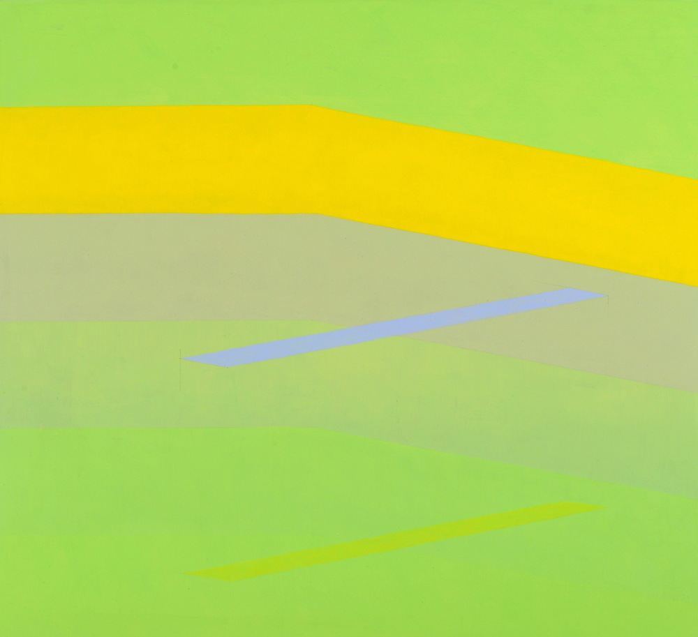 MARTIN V SMITH - Green space 810x760 & Signed A2 Giclee Prints