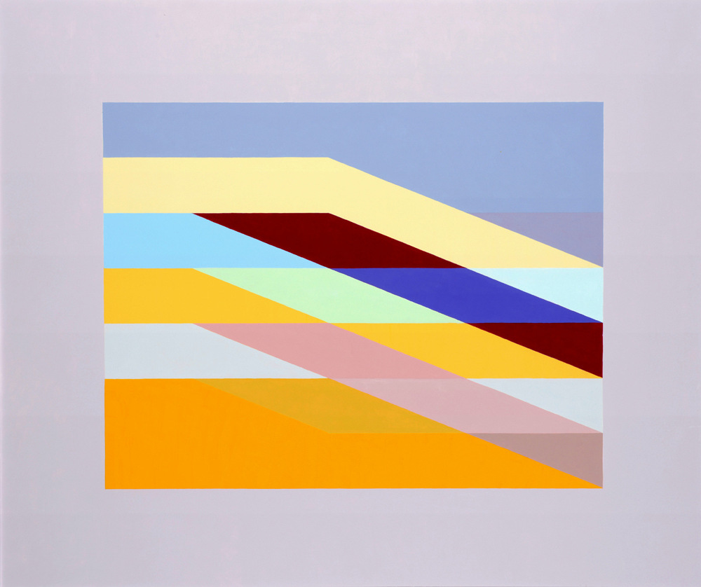 MARTIN V SMITH - Wrapped:Down to Orange. Acrylic 870x710mm & 632x543mm Limited Edition A2 Giclee prints available