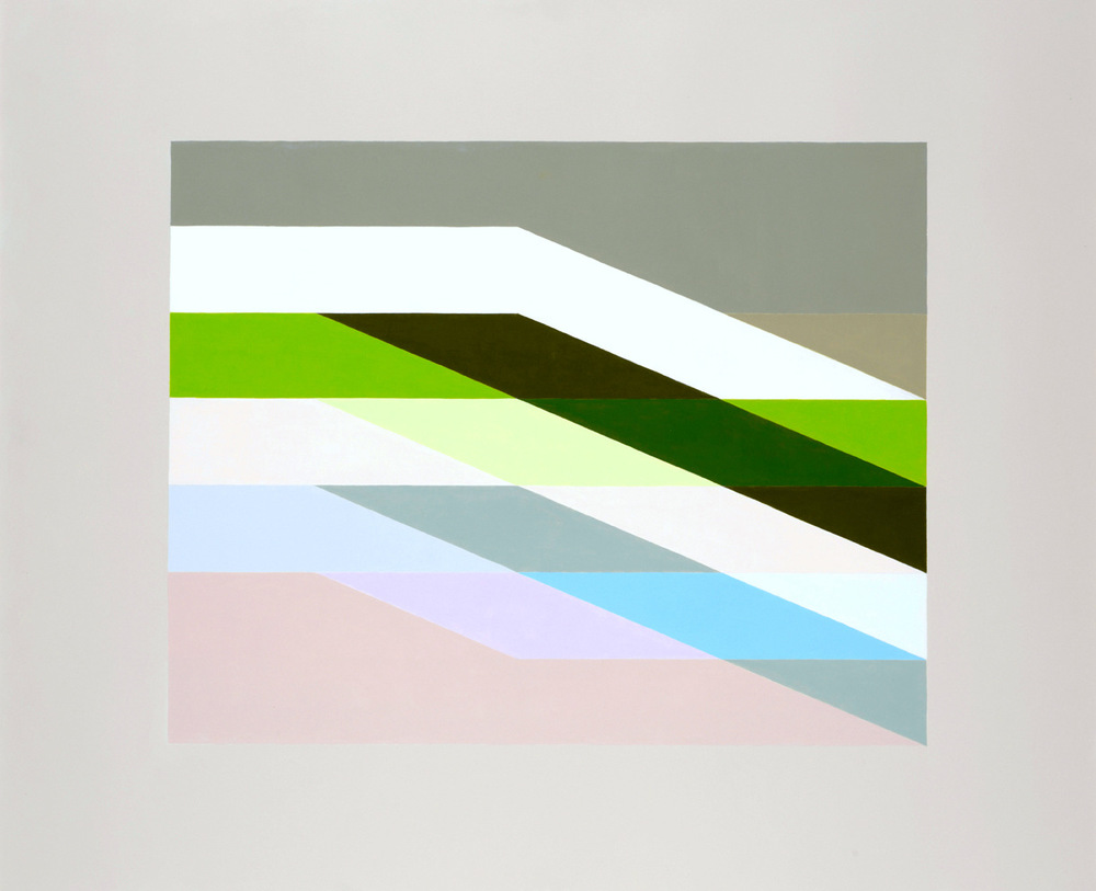 MARTIN V SMITH - Wrapped:Green Acrylic 870x710mm & 632x543mm Limited Edition A2 Geclee prints available
