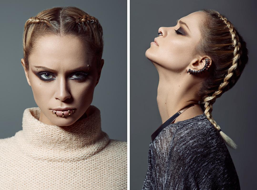 Kateryna Konstantynova Retouch - Photo by Herve Dunoyer. Creative director Sonny Sun.