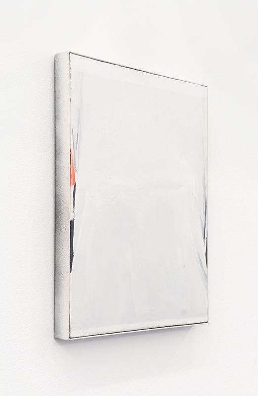 Alex Marco - T-shirt, 2014. Oil, spray and enamel on canvas, 50x40cm.
