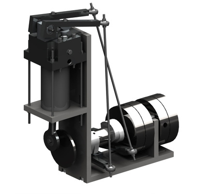 PORTFOLIO - Carl Hansols - Luftmotor byggd i NX