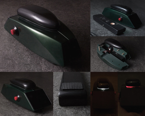 PORTFOLIO - Carl Hansols - Arbete med skummaterial och elektroniska komponenter