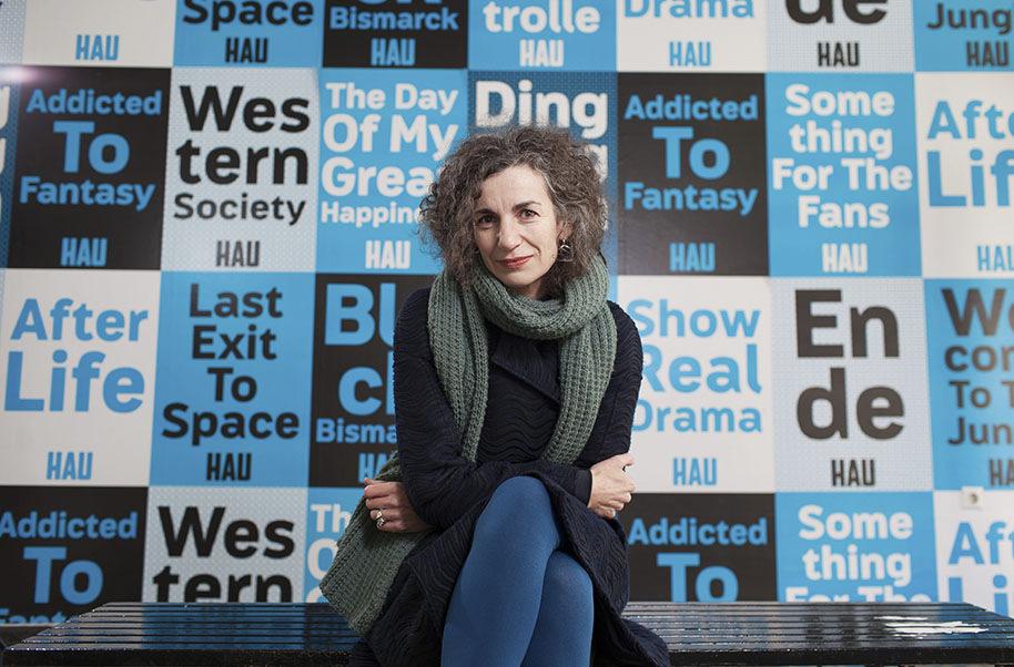 Pressefoto Georg Moritz // Berlin - Intendantin Annemie Vanackere