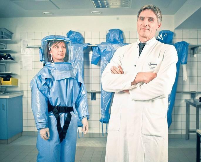 Pressefoto Georg Moritz // Berlin - Frank Bergmann, 57, Oberarzt an der Abteilung für Infektiologie