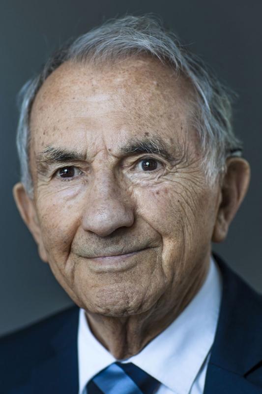 Pressefoto Georg Moritz // Berlin - Holocaust-Überlebender Salomon Finkelstein (93)