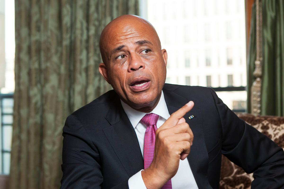 Pressefoto Georg Moritz // Berlin - Michel Martelly, Haiti, Präsident