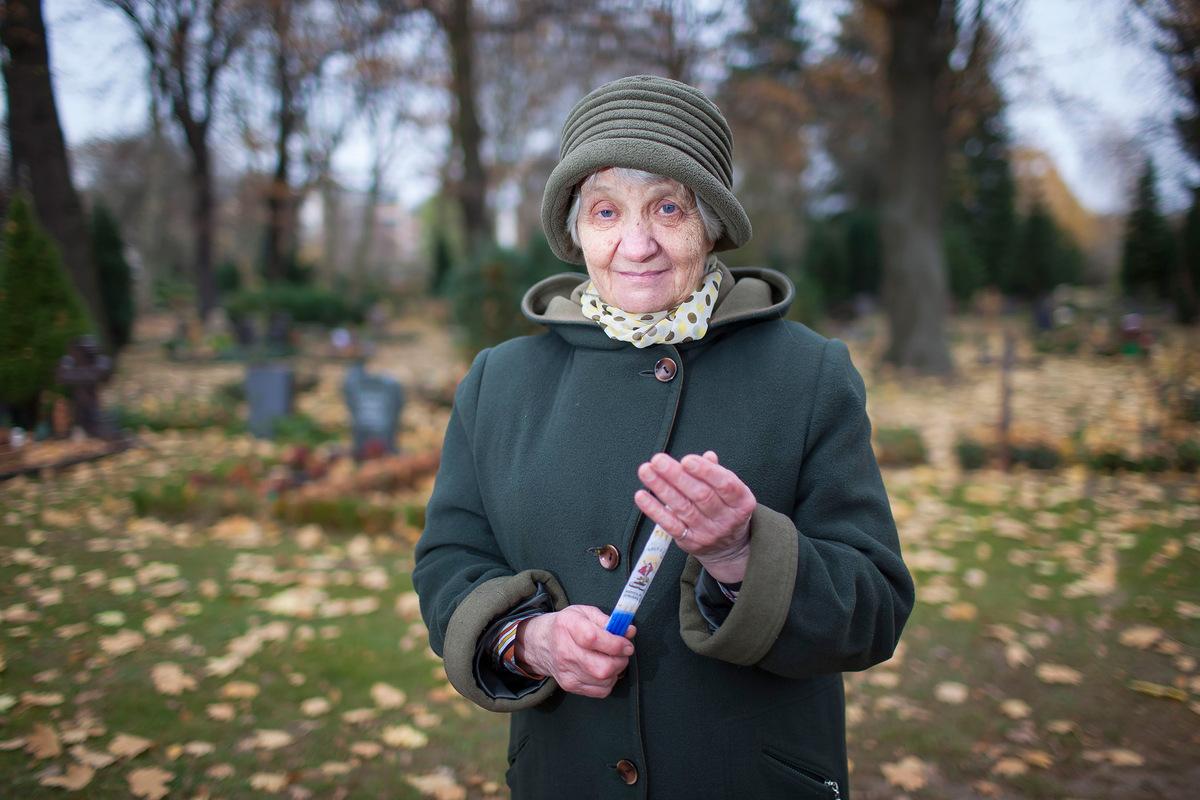 Pressefoto Georg Moritz // Berlin - Ukrainerin auf der Suche nach ihren Verwandten