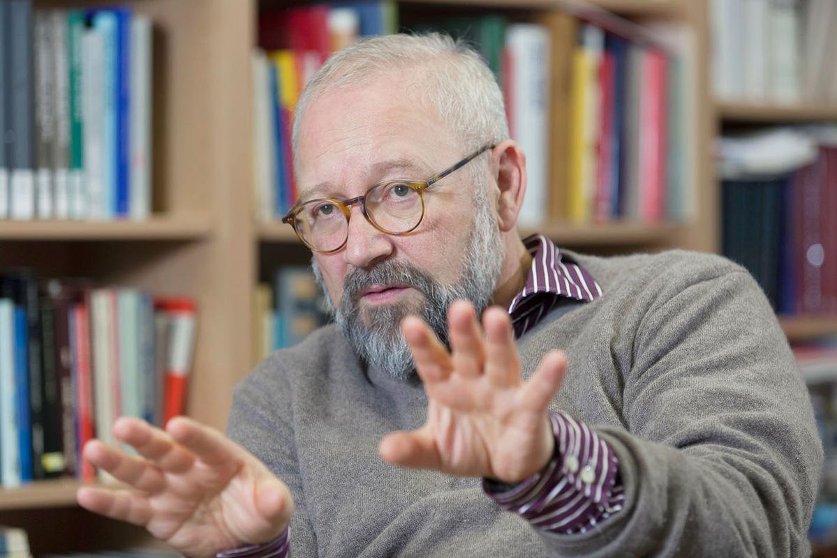 Pressefoto Georg Moritz // Berlin - Prof Herfried Münkler, HU Berlin