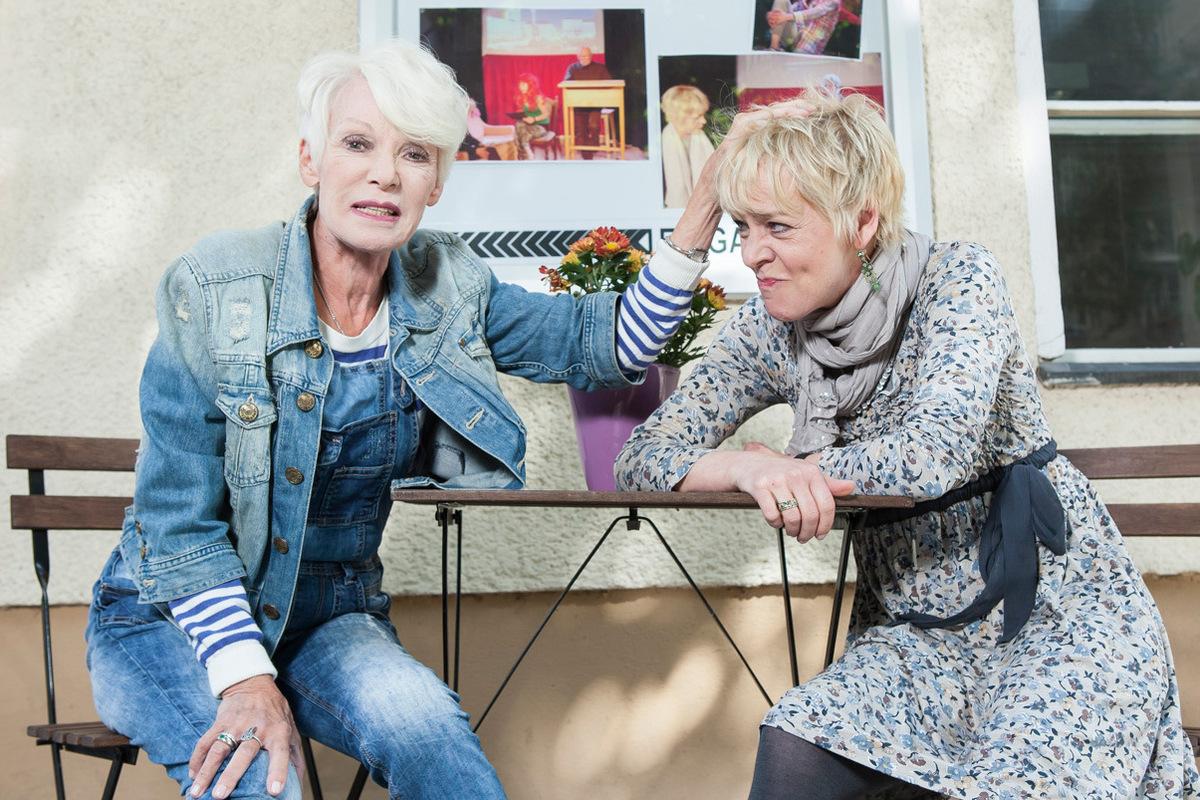Pressefoto Georg Moritz // Berlin - Anita Kupsch und Tochter Daniela Lohmeyer