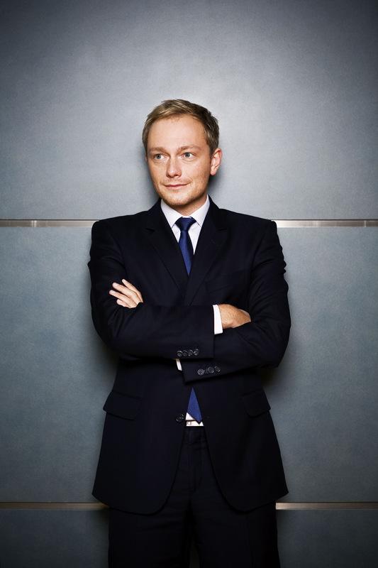 Pressefoto Georg Moritz // Berlin - Christian Lindner, FDP