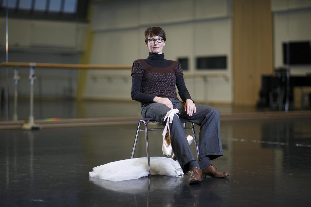 Pressefoto Georg Moritz // Berlin - Ballerina Bettina Thiel
