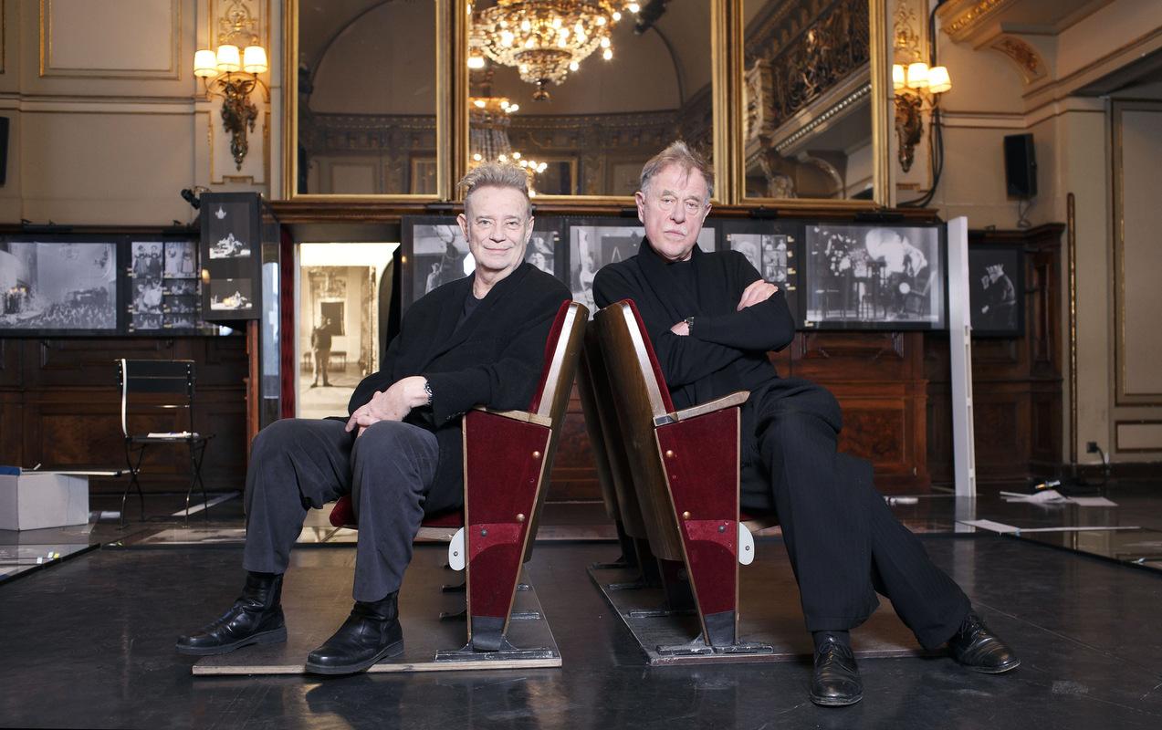 Pressefoto Georg Moritz // Berlin - Claus Peymann und Gert Voss im Interview