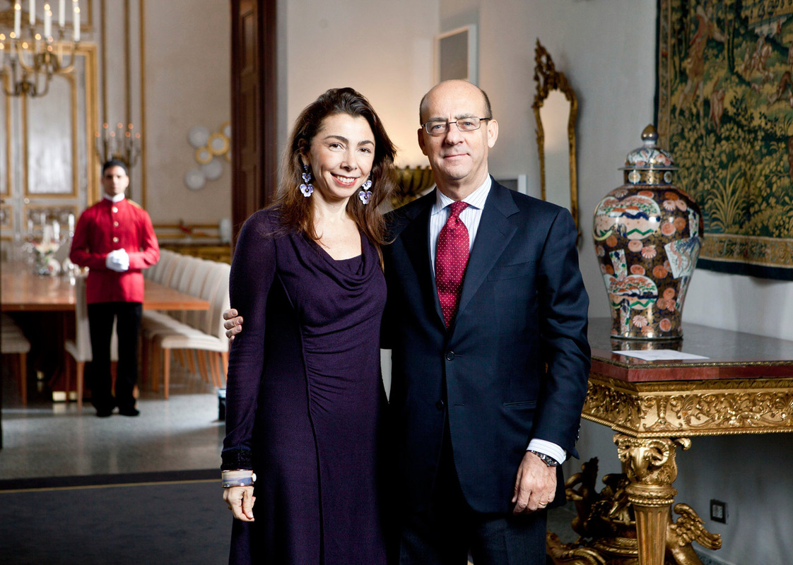 Pressefoto Georg Moritz // Berlin - Italilienischer Botschafter und Gattin