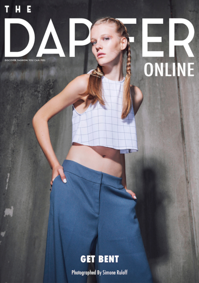 Simone Rudloff - get bent x the dapifer magazine