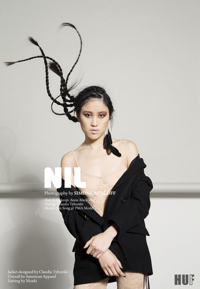 Simone Rudloff - nil for huf magazine
