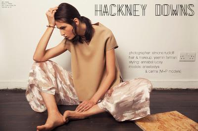 Simone Rudloff - hackney downs x flanelle magazine