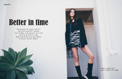 Simone Rudloff - better in time x superior magazine