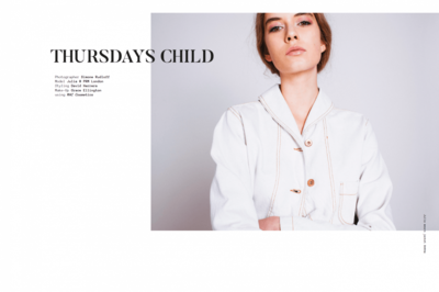 Simone Rudloff - thursdays child x noctis magazine