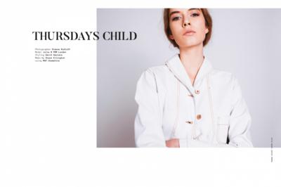 Simone Rudloff - thursdays child x noctis magazine