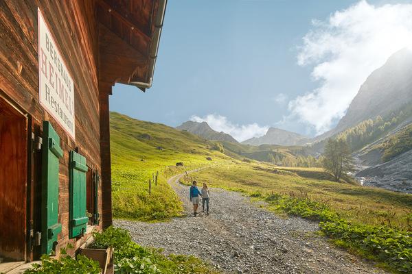 CHRISTOF SCHUERPF FOTOGRAFIE -  Schweiz Tourismus Berghaus Heimeli