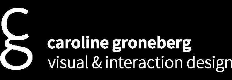 Caroline Groneberg | Visual & Interaction Design