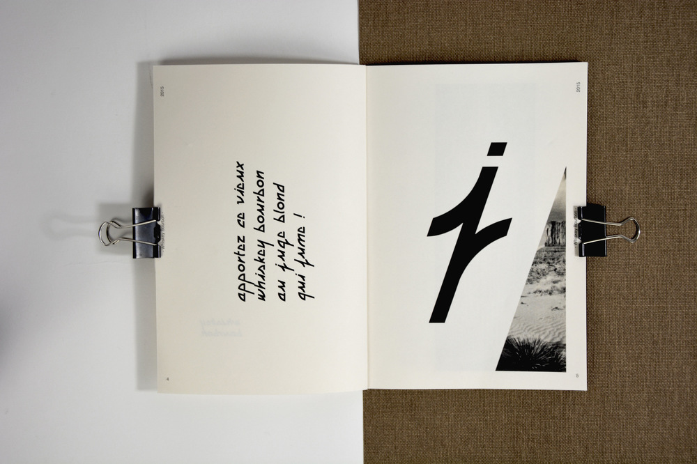 Romain Graille - • typographie