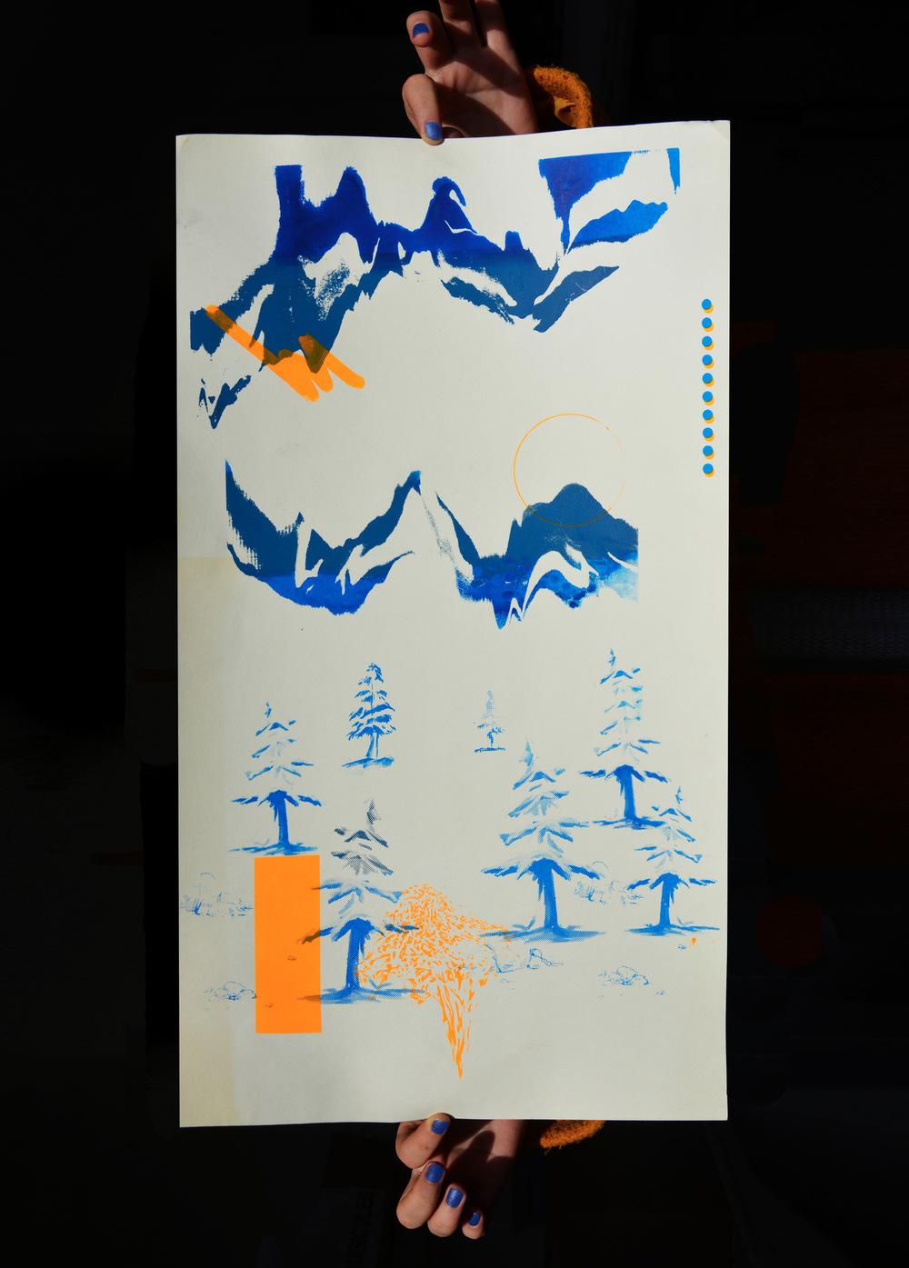 Romain Graille - • sérigraphie