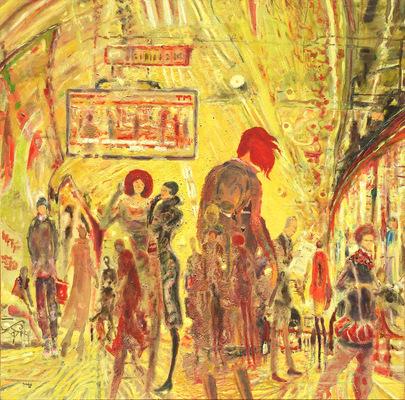 Art Carlos Pardo - (Ref. 0371) Subway II · Metro II