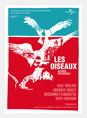 Pierre Besombes - Les Oiseaux > Affiche