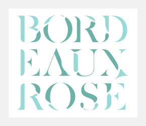 Pierre Besombes - Bordeaux Rosé > Identité Visuelle, Packaging