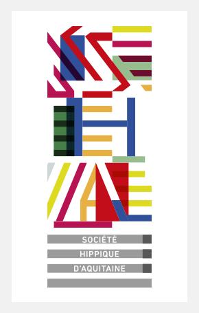 Pierre Besombes - Société Hippique dAquitaine > Identité Visuelle