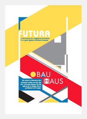 Pierre Besombes - Bauhaus > Affiche