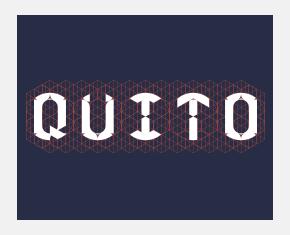 Pierre Besombes - Quito > Typographie