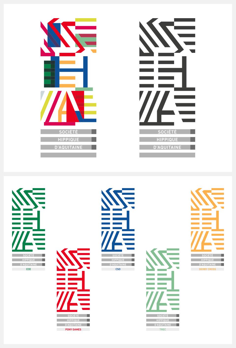 Pierre Besombes - Logo et déclinaisons