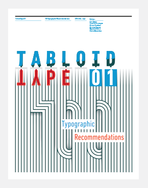 Pierre Besombes - Tabloid Type > Édition