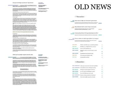 GNNVNDRN - OLD NEWS