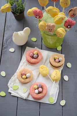 Sylvie Aït-ali - Macarons de Pâques
