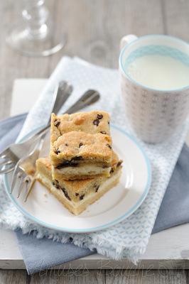 Sylvie Aït-ali - Carrés cookies-cheesecake