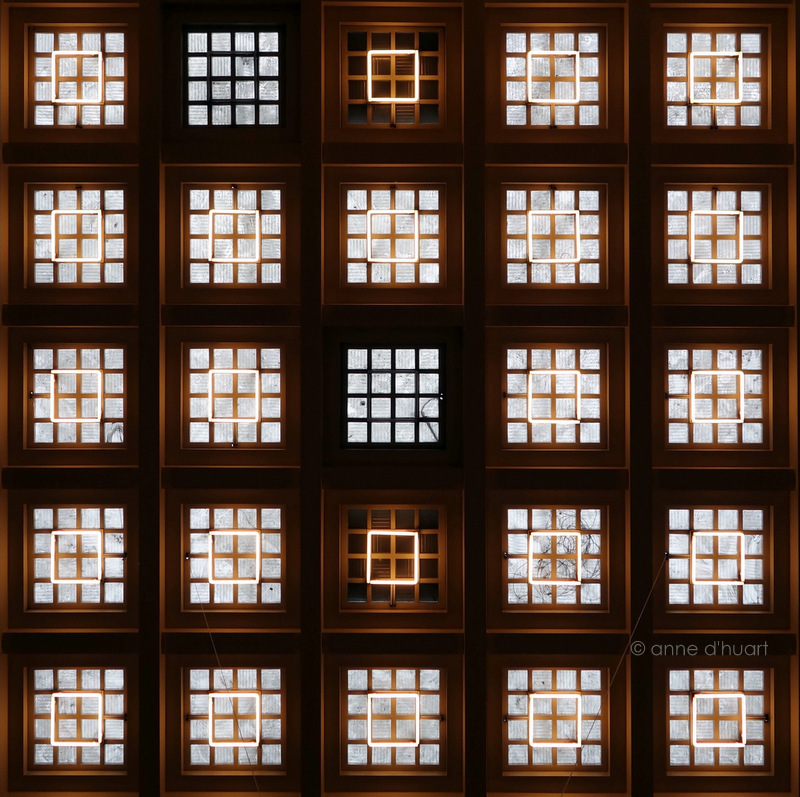 Anne dHuart . Photographies - Count the squares