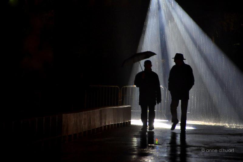 Anne dHuart . Photographies - Les passagers de la pluie