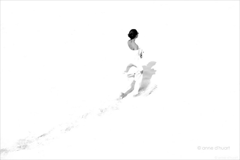 Anne dHuart . Photographies - Un ange passe