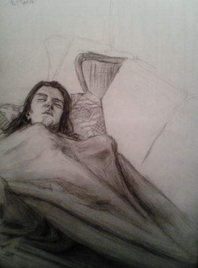 Annie Maheux Works - Sketches Au Chalet part 3. June 2009.