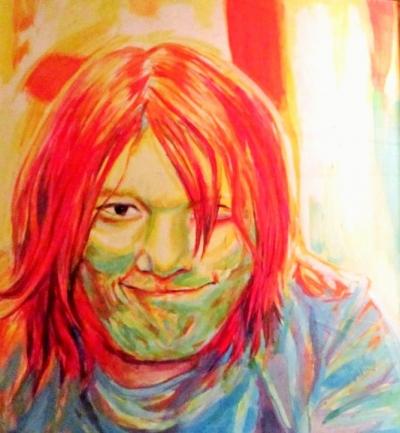 Annie Maheux Works - Benjamin portrait