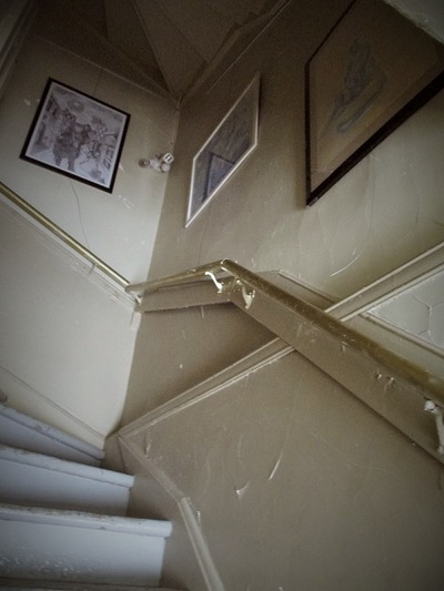 Annie Maheux Works - The staircase exhibit site part 1 of 3