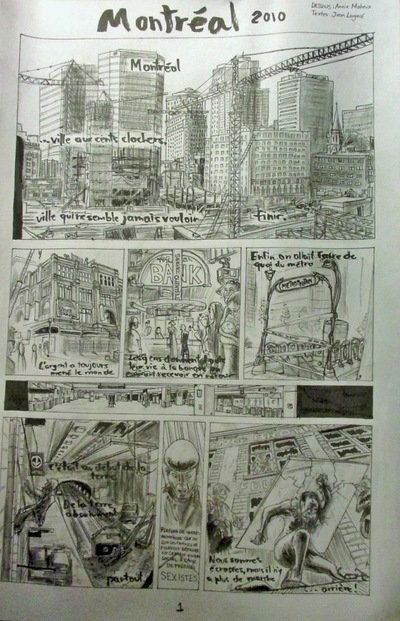 Annie Maheux Works - BD reversible Montreal page 1