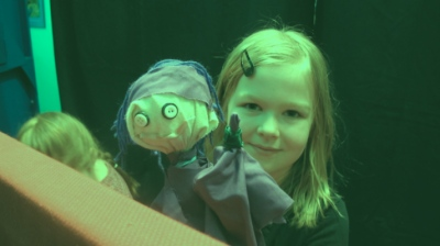 Annie Maheux Works - Backpack Puppet Theater Company