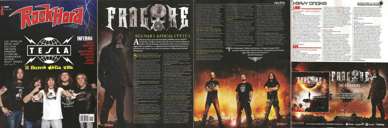 fragore - Rock Hard - June 2014