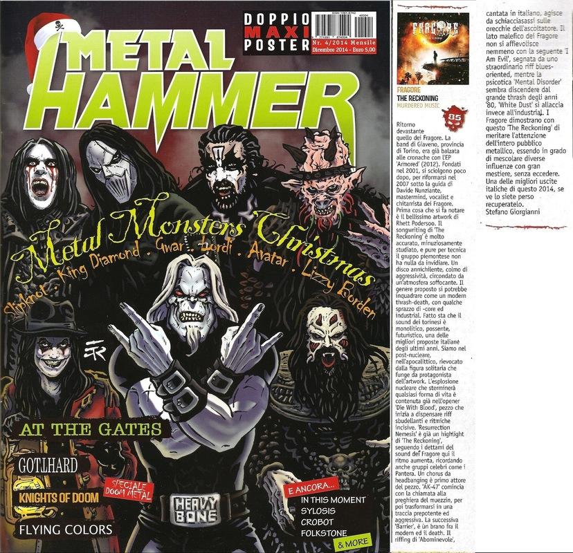 fragore - Metal Hammer - December 2014