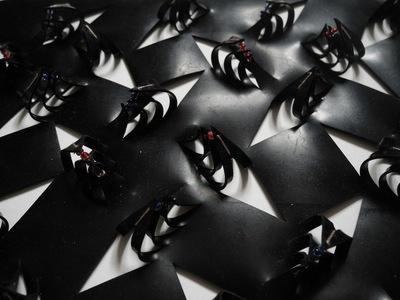 Asami Ohara - rubber sheet cutwork sample#1